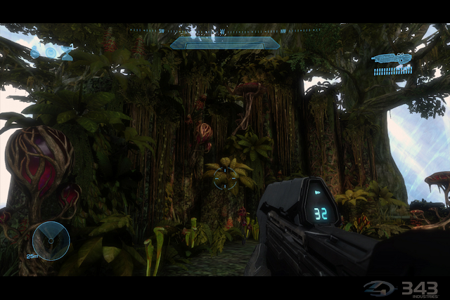 Halo 4 organics plants and foliage