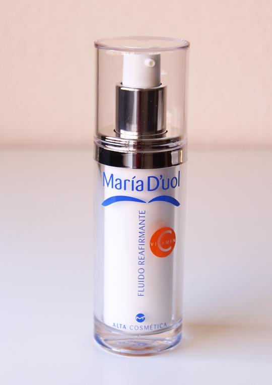Fluido Reafirmante con Vitamina C de María D´uol.