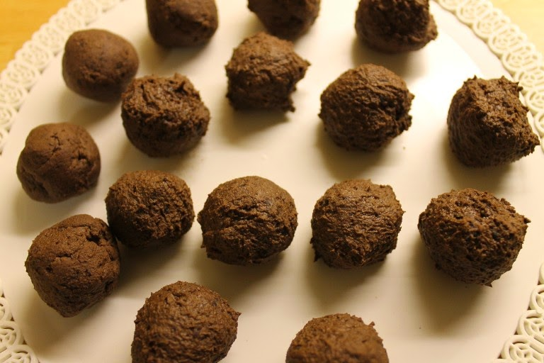 Cioccolatini ai fagioli