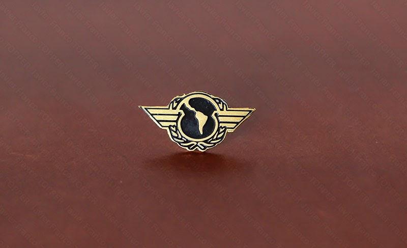 Broches o 'pin' de aviación - Comisión Latinoamericana de Aviación Civil CLAC