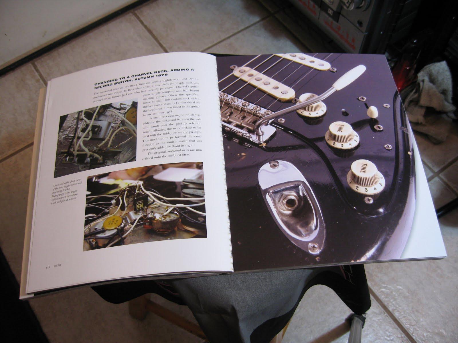 Loeuvre On Connait Lartisan 2011 The David Gilmour Black Strat Wiring Diagram Closeup Of