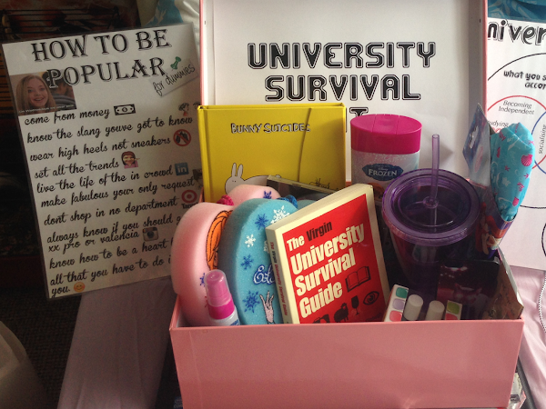 University Survival Kit - Gift Idea