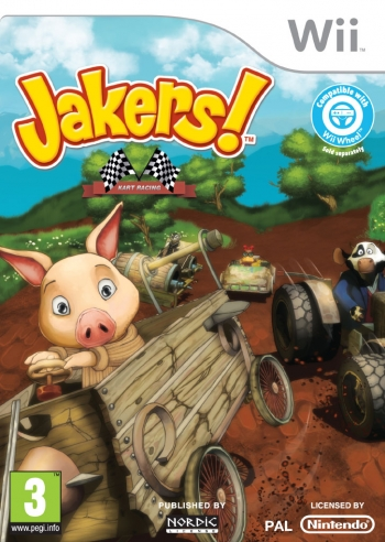[Wii] WII Jakers! Kart Racing Spa,Eng,Fre,Ita,Ger PAL Primicia Julio 2013