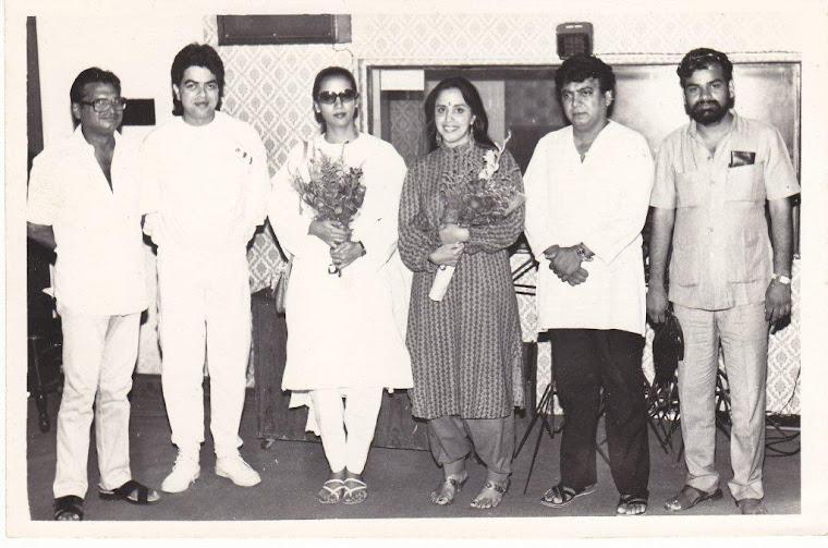 A rare photograph from the black & white era.....