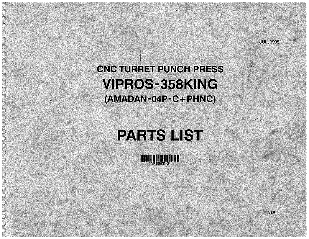 Vipros 358 KING Amadan 04PC +PHNC Parts List