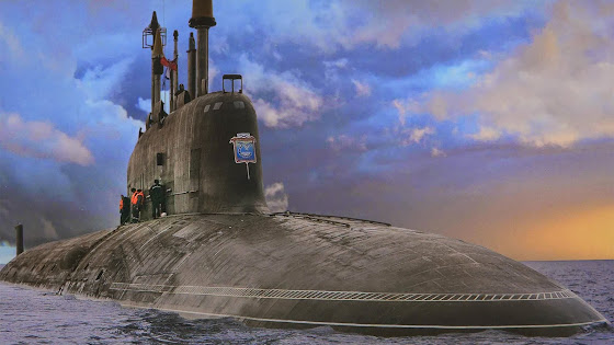 Yasen K-560 Severodvinsk submarine