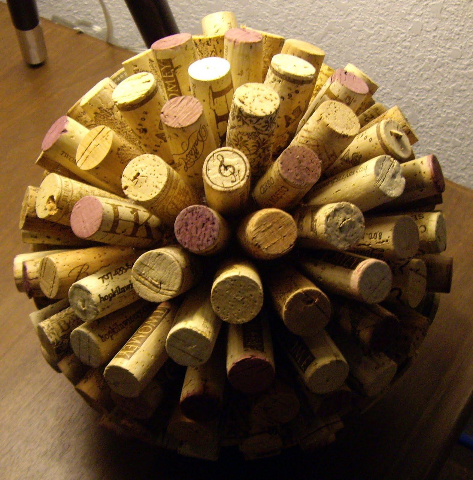 Glam granola pinterest challenge cork balls for Cork balls for crafts