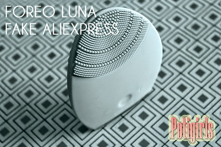FOREO LUNA FAKE DE ALIEXPRESS
