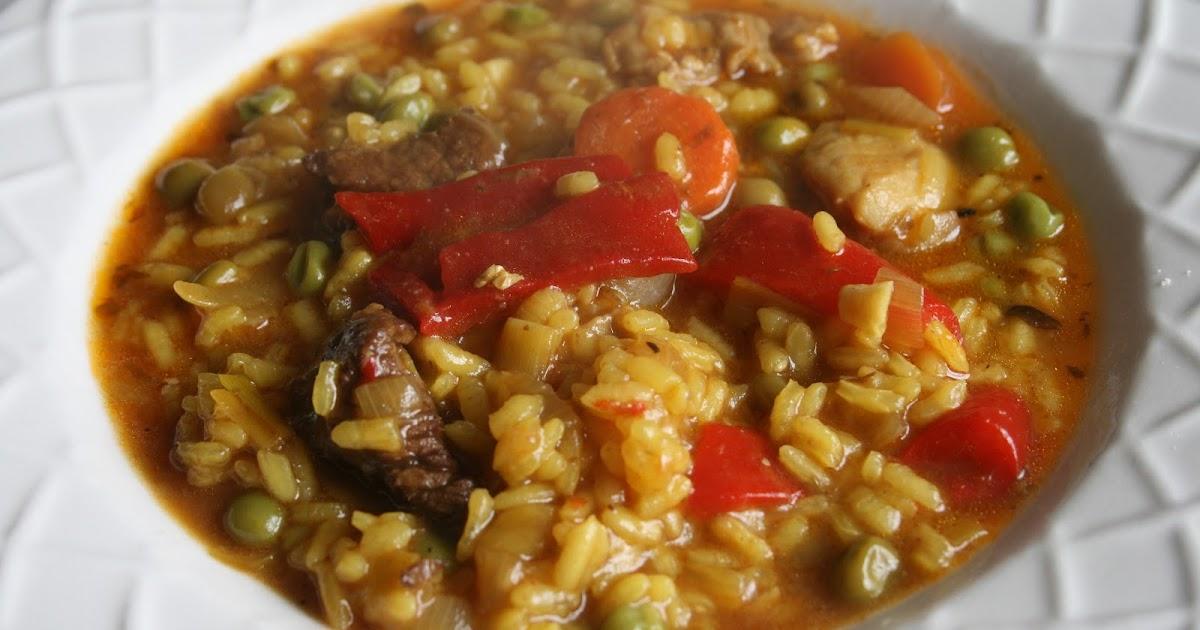Aprendiendo a cocinar arroz caldoso con carne for Cocinar 6 tipos de arroz