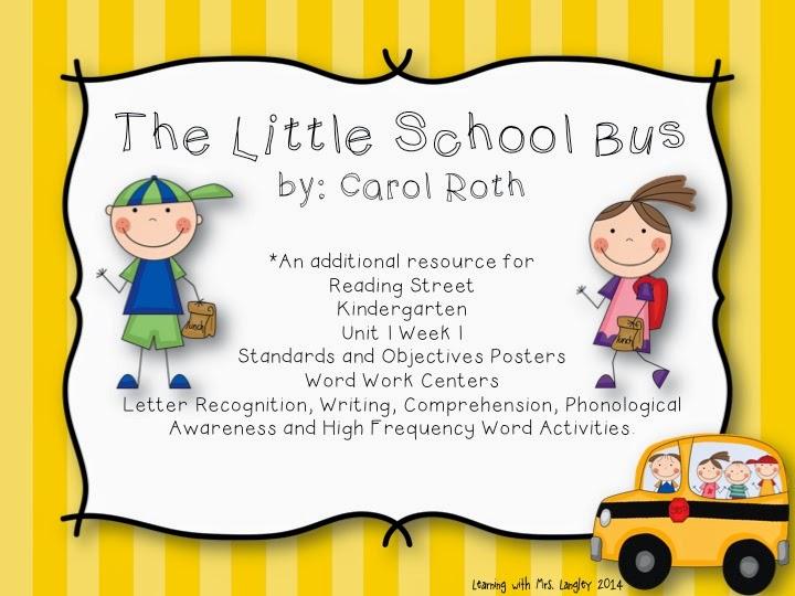 http://www.teacherspayteachers.com/Product/Kindergarten-Reading-Street-Unit-1-Bundle-1315827