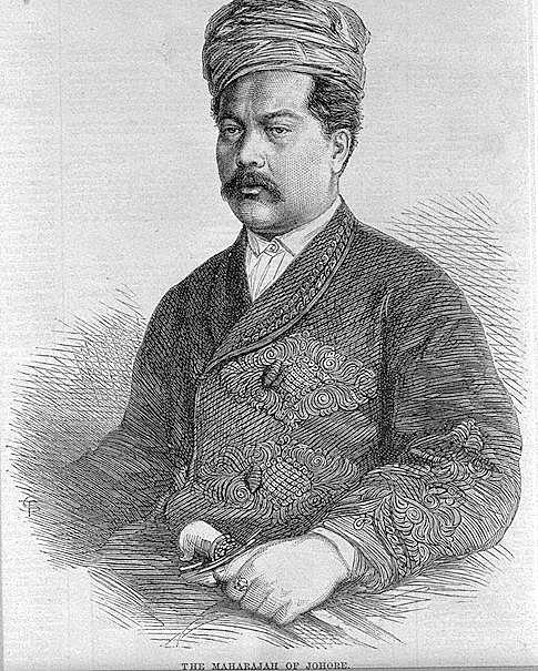 Sultan Sir Abu Bakar of Johor