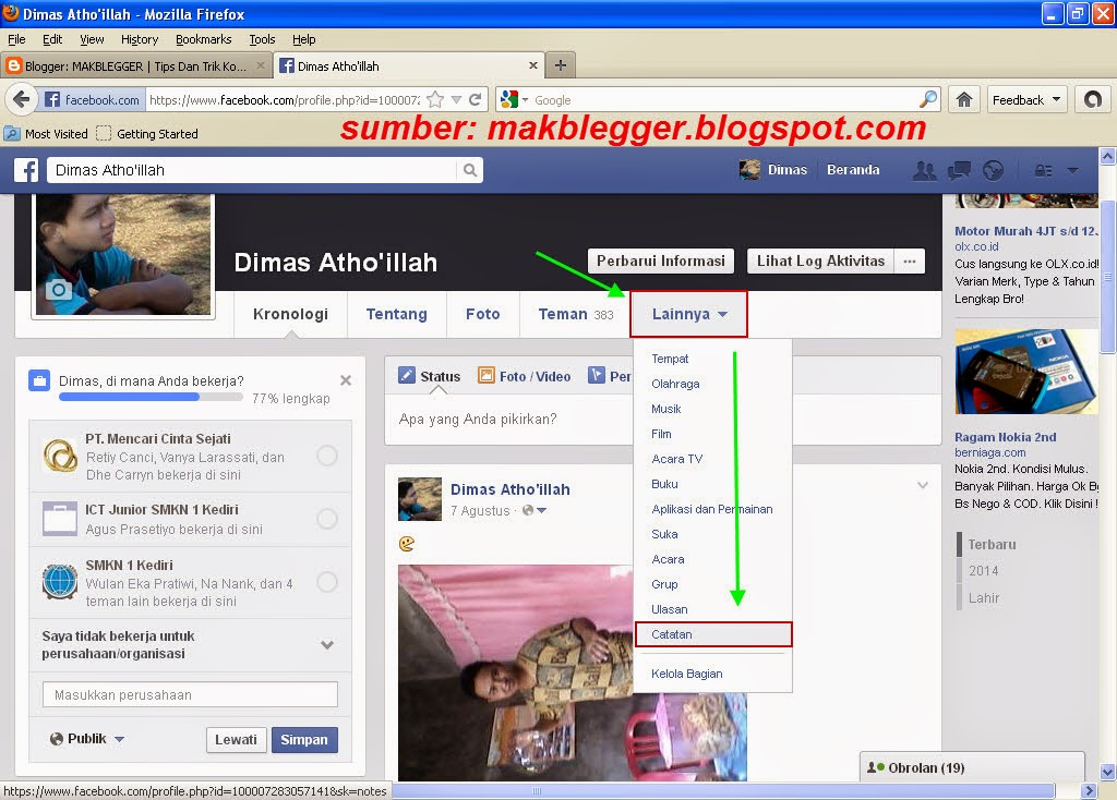 Cara Membuat Dokumen Di Facebook
