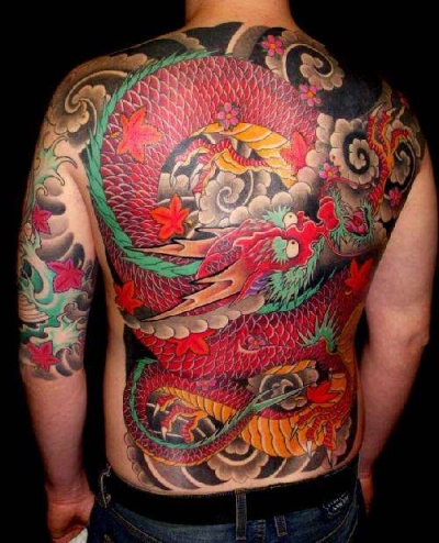 Japanese Dragon Tattoo Sketches. Japanese Tattoo Dragon Style