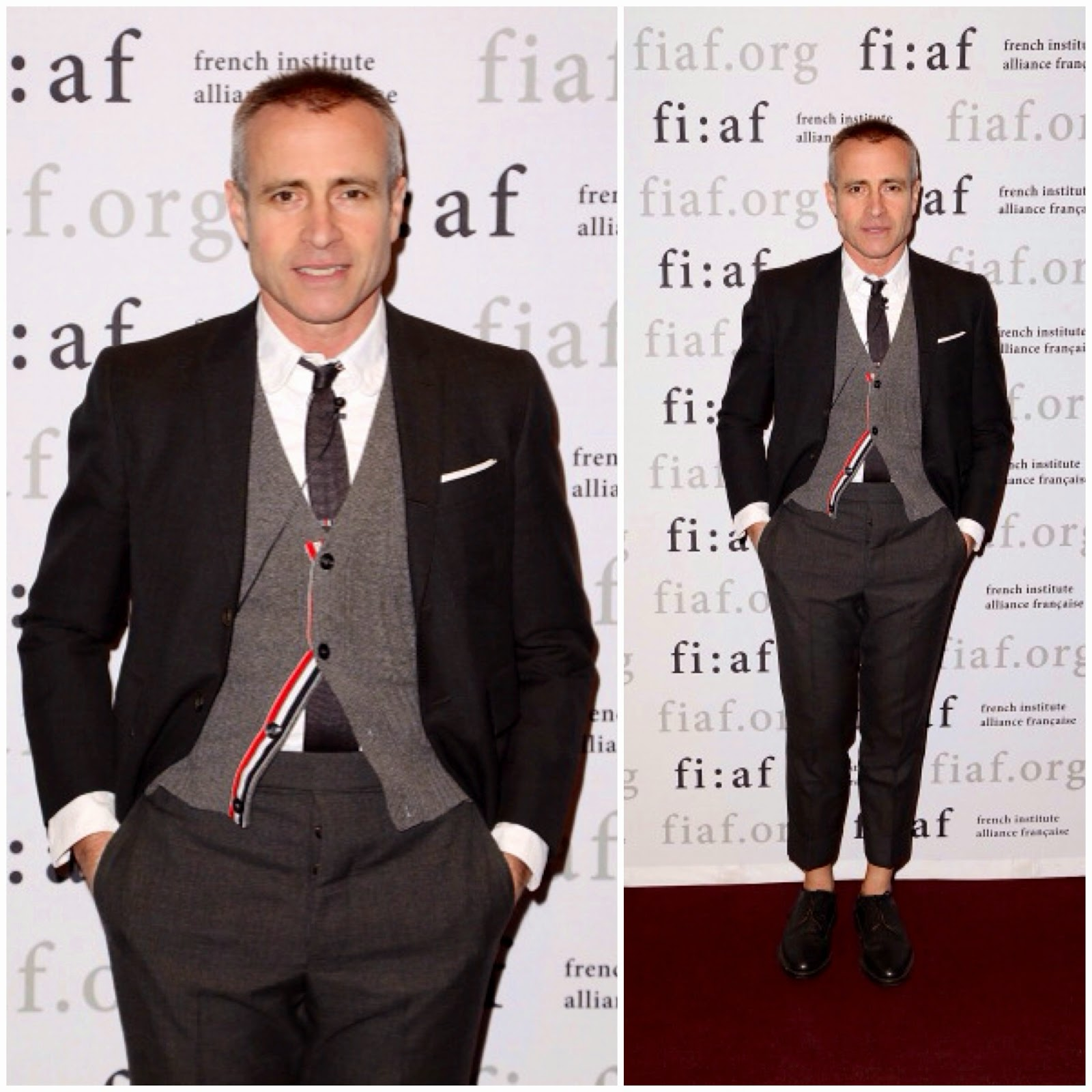 Thom Browne in Thom Browne - Fashion at FIAF Presents: An Evening With Thom Browne And Robin Givhan