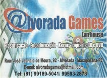 ALVORADA GAMES