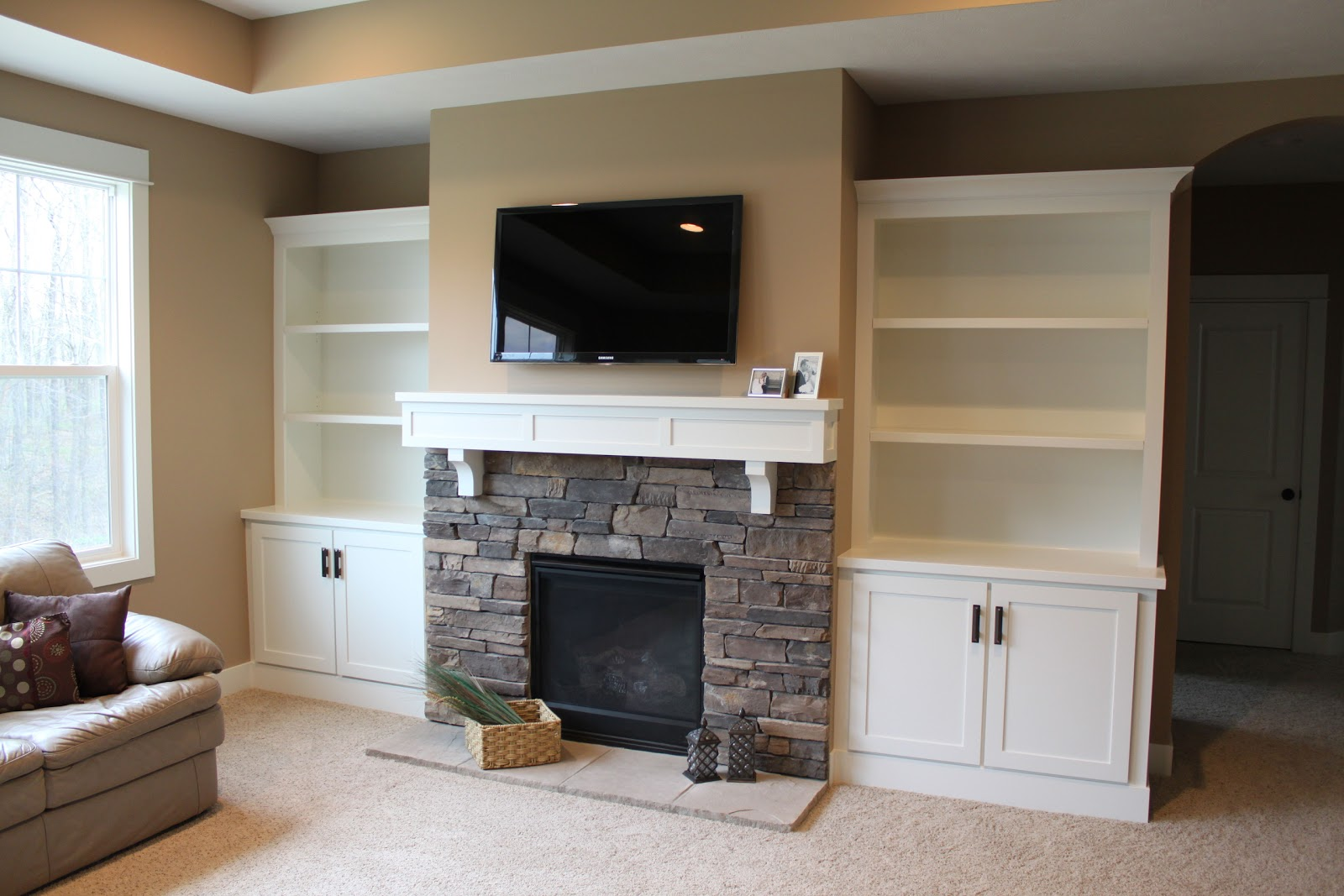 Cost of building a fireplace - Hammers And High Heels Feature Project Holly And Brian S Fireplace Built Ins