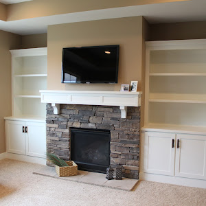 Hammers And High Heels: Feature Project: Holly And Brianu0027s Fireplace Built  Ins