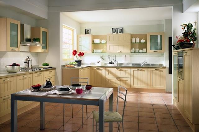 Home Sweet Home Kuchnia rustykalna biała