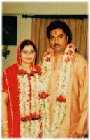 Kuamr Sanu With Wife Saloni
