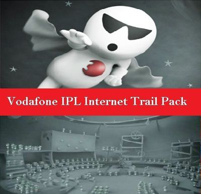 Vodafone IPL Internet Trail Packs