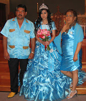 Dalia and her padrinos