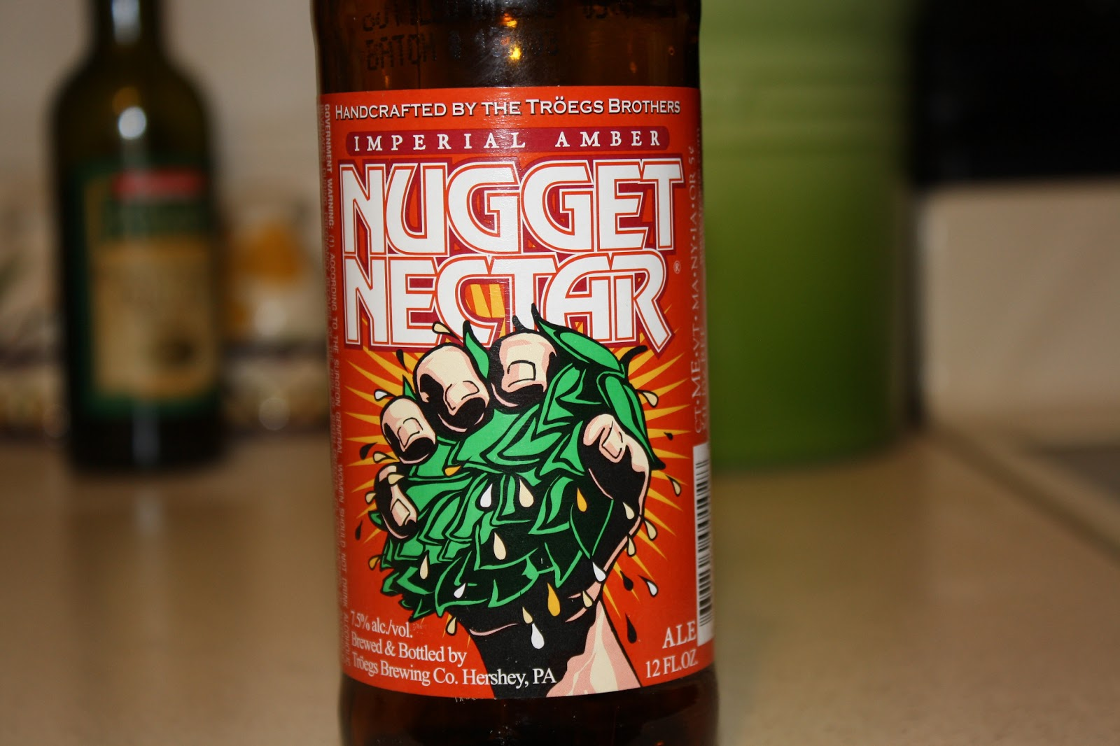 Troegs Brewing Company Nugget Nectar