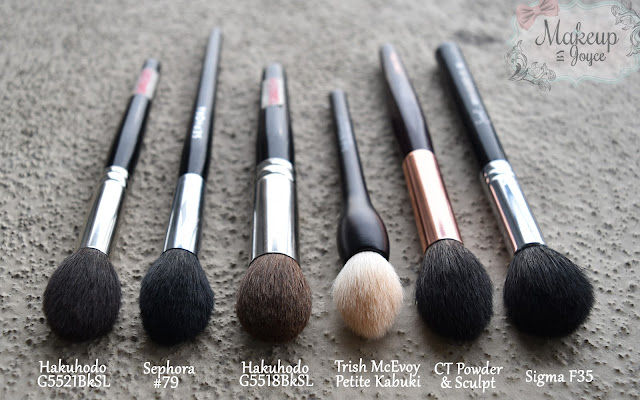 Tapered Highlighting Brush Collection