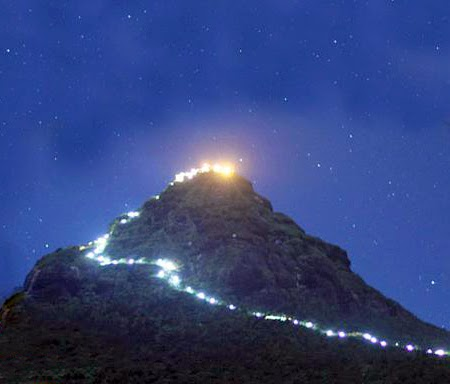 Lighting, Adam's Peak, sripada, srilanka, mountain