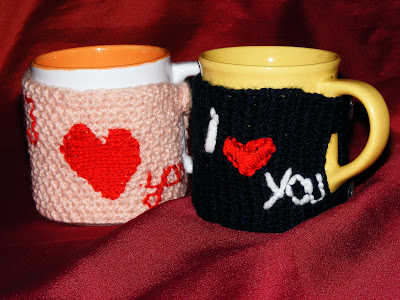 cani de Sfantul Valentin cu husa handmade