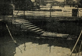 Queen Victoria's landing steps