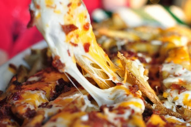 Bacon and Cheese Potato Wedges Recipe