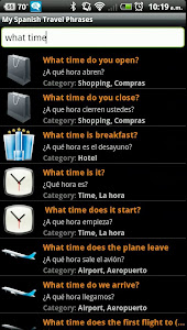My Spanish Travel Phrases