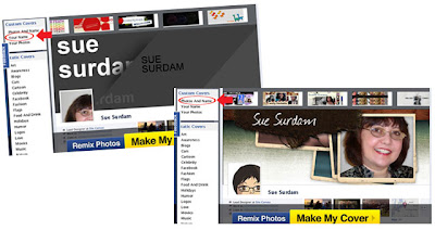 CoverCanvas Options Como fazer capas personalizada pro Facebook  photoshop