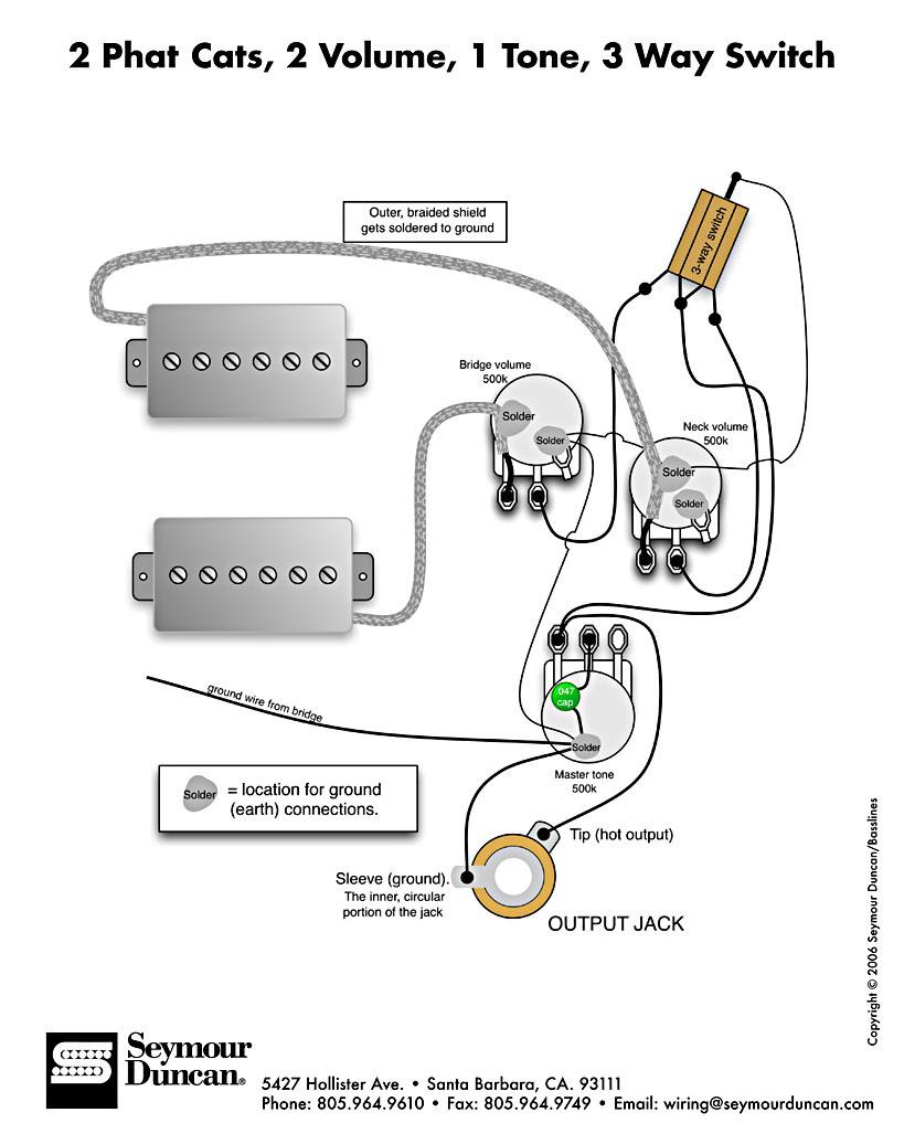 Emg Wiring Diagrams 2 Volume 3 Way Smart 81 85 Diagram 5 One Tone Vs Look To