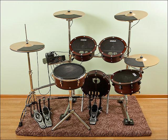 Как сделать свою барабанную установку 357
