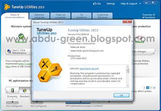 Tuneup 2013 Versi 13.0.2020.14 Full Version