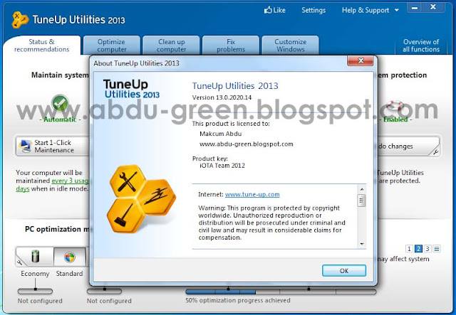 Tuneup 2013 Versi 13.0.2020.14 Full Version