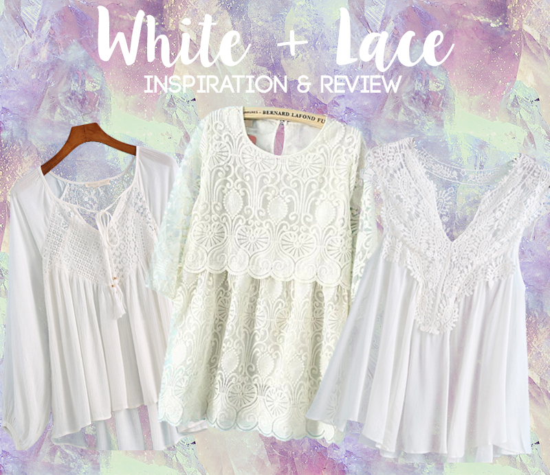 SheIn Review and White Lace Fashion Inspiration