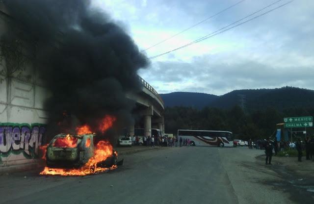Incendio en la Marquesa