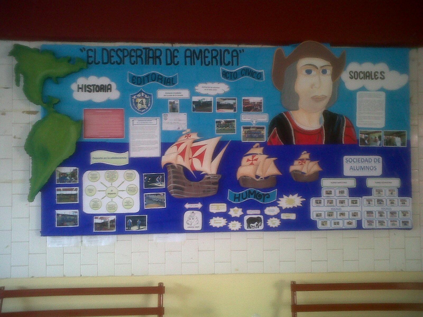 3ero B de Ciencias Sociales CEUJA: Periodico Mural del Mes de Octubre