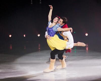 disney on ice snow white & prince charming