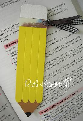 Pencil+bookmark