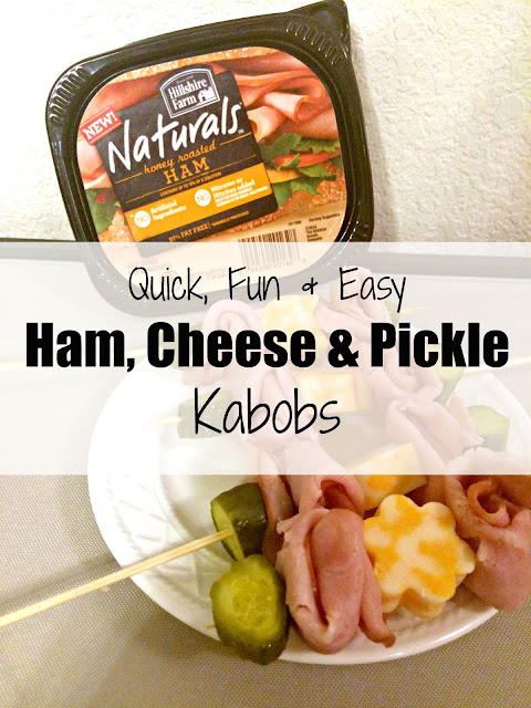 Hillshire Farm Naturals, #hillshirenaturals, Easy kids lunch kabobs, how to make kabobs, lunch meat kabobs.