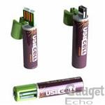 Pile AA rechargement port USB