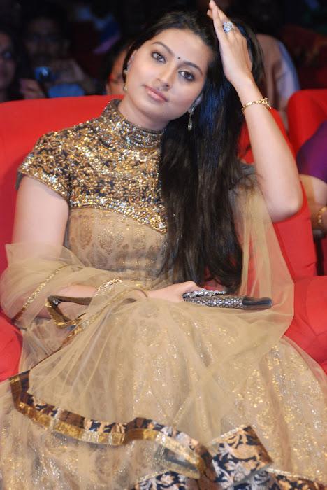 , Sneha In Golden Anarkali Suit Hot Pics At Award Function