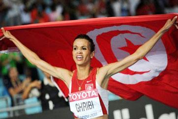 Habiba Ghribi décroche la médaille d'argent