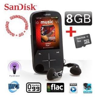 Sandisk Sansa Fuze+ mit 8 GB für 55,90 Euro inklusive Versandkosten bei iBood
