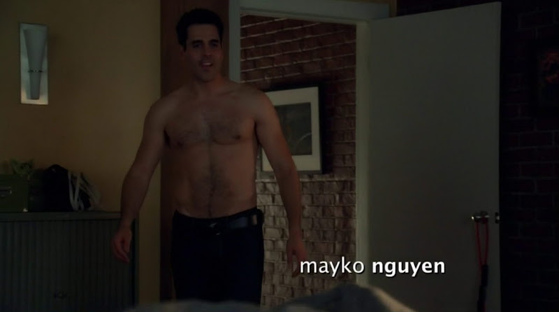 Ben Bass Shirtless in Rookie Blue s3e02