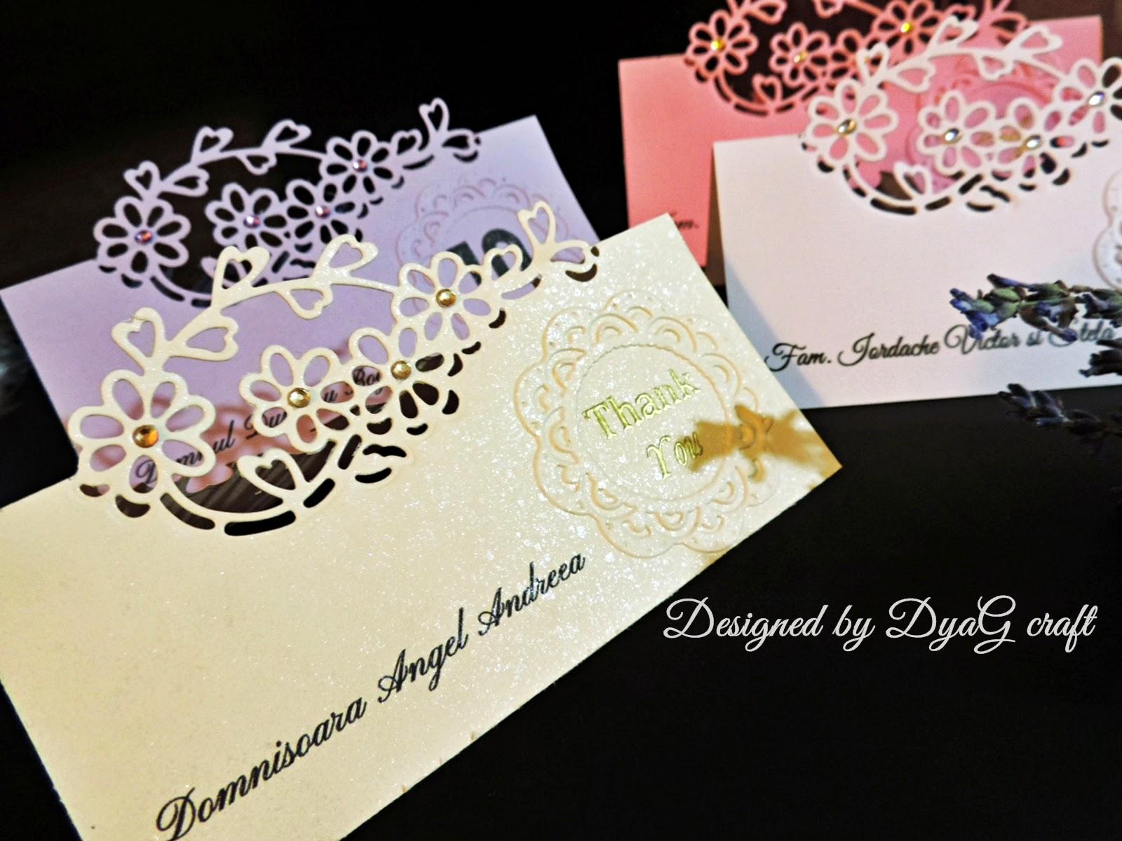numar masa nunta din carton sidefat perlat floare embosata