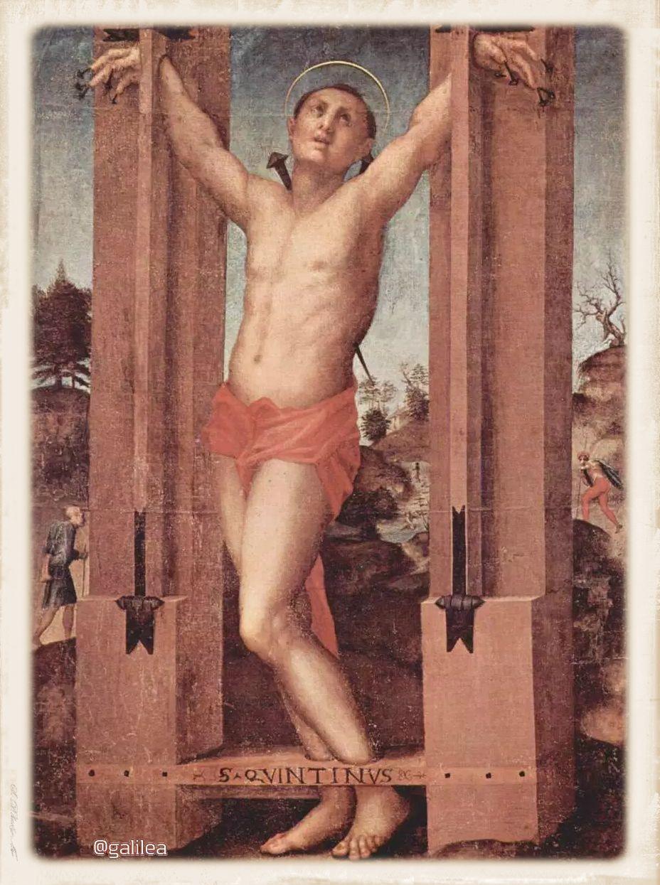 Resultado de imagen para imagen san quintin (Santo)